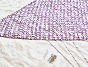 háčkovaný šátek,náv, háčkování pro začátečníky